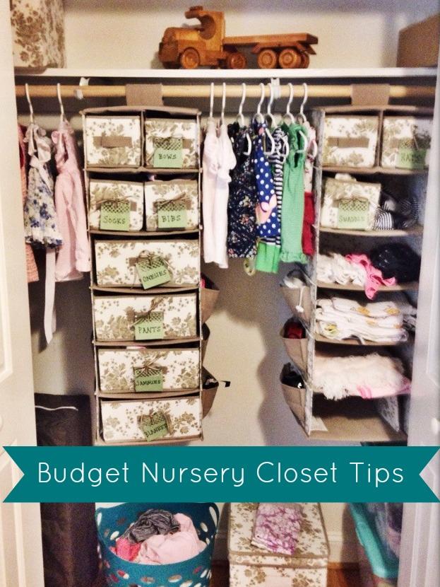 Budget Nursery Closet Tips   The Cup of Tea blog