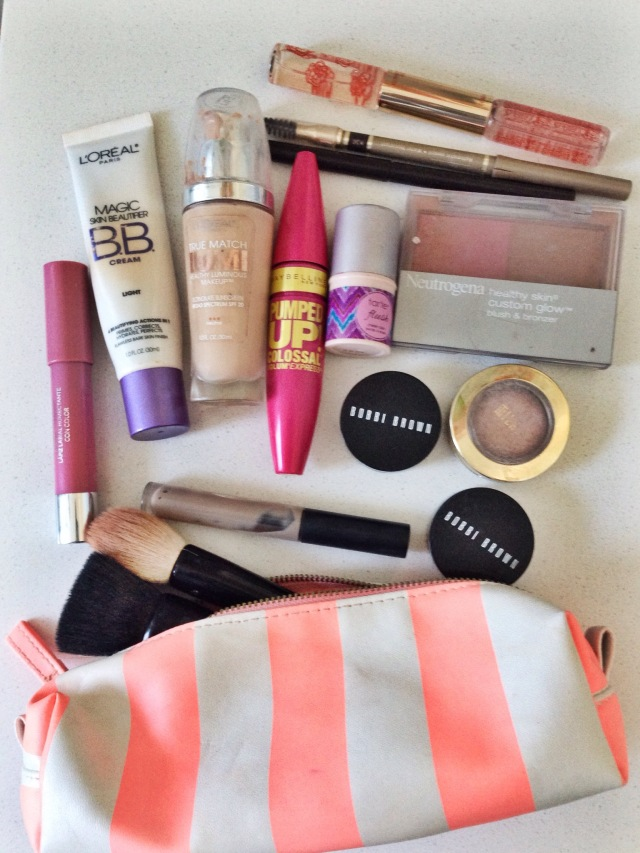 What's in my Travel Makeup Bag at Cup of Tea
