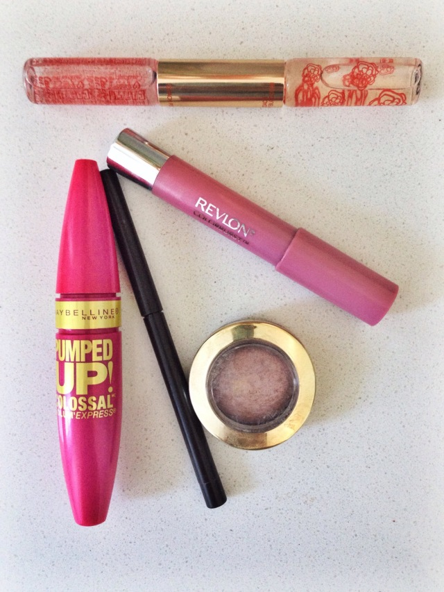 Eye Products in the Travel Make up Bag at Cup of Tea