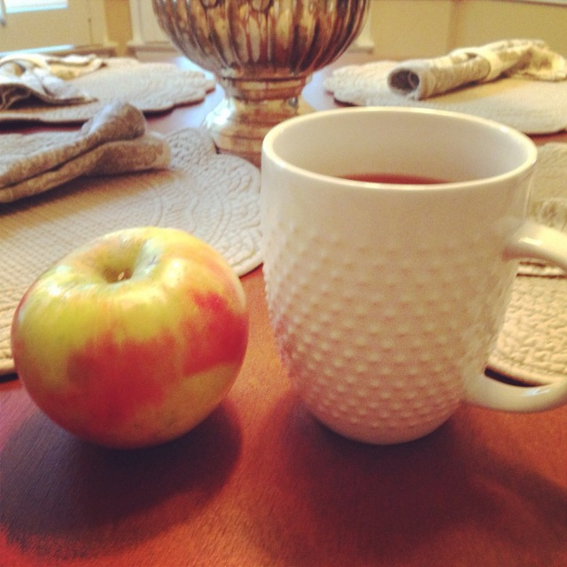 Honeycrisp and Tea on Cup of Tea Blog