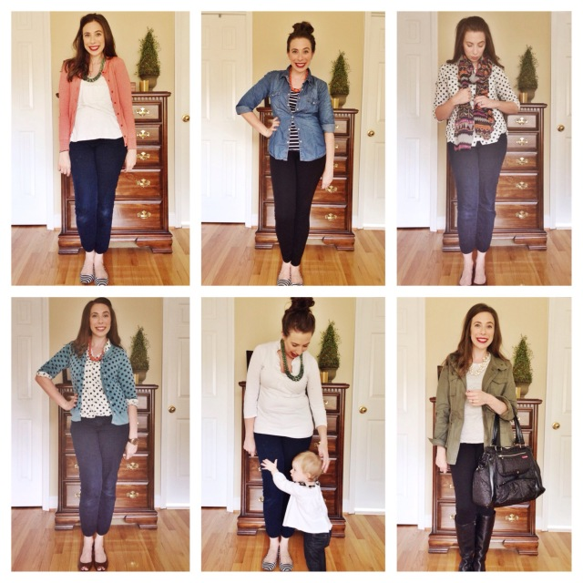 Outfits Days 7-12 with Cup of Tea