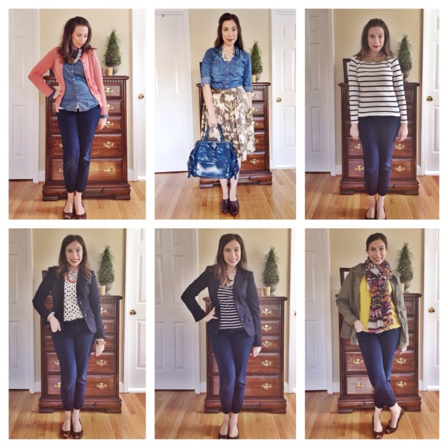 Recap of Outfits 13-18 for 30 Outfits in 30 Days on Cup of Tea