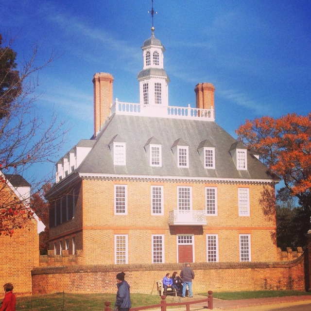 Govenor's Palace at Colonial Williamsburg