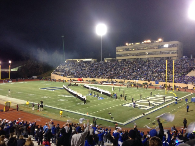 Duke vs. UNC Football Game