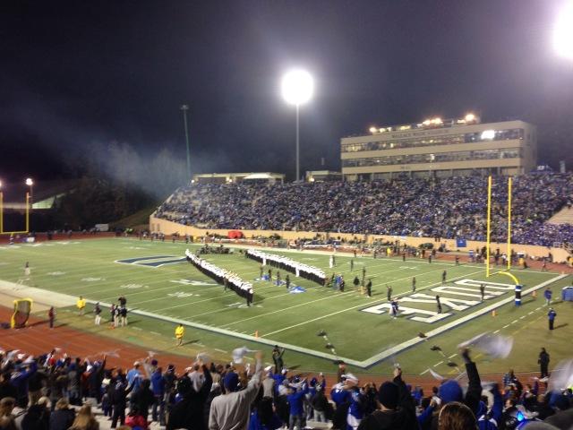 Duke vs. UNC Football Game