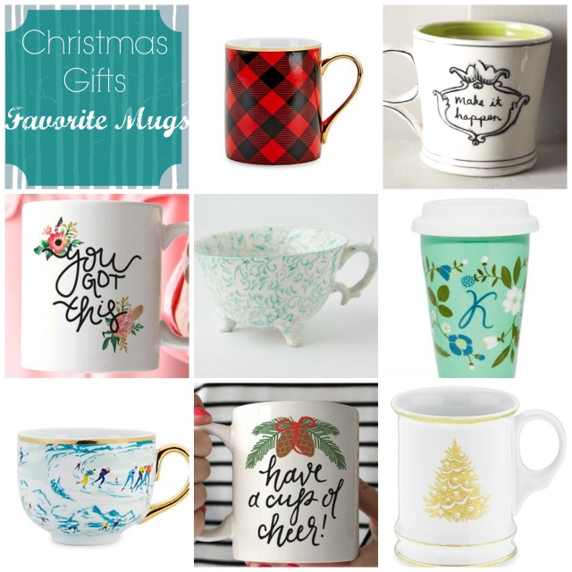 Favorite Mugs for Gifts at Cup of Tea